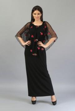rochie-eleganta-cu-tulle-brodat-r098br-m-3-l